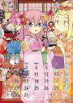 2020 2girls artist_name bowl calendar_(medium) character_print commentary_request daruma_doll floral_print hina_ningyou hinamatsuri hirasawa_shizuku hishimochi iguchi_akari imae_megumi itou_hikari japanese_clothes katou_asuka kimono kita_senju kiyota_yoshinori komiyama_kotomi kuroki_tomoko minami_koharu multiple_girls naruse_yuu nemoto_hina okada_akane orange_kimono pink_kimono print_scrunchie qr_code rabbit red_scrunchie reiwa rice_bowl sample satozaki_kiko scrunchie tamura_yuri tanaka_mako translated twitter_username uchi_emiri watashi_ga_motenai_no_wa_dou_kangaetemo_omaera_ga_warui! yoshida_masaki