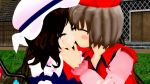 couple elis_scarlet lyrica_prismriver touhou yuri