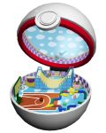 basketball basketball_court basketball_hoop checkered creatures_(company) game_freak gen_1_pokemon halfpipe n's_room nintendo open_poke_ball pikachu poke_ball pokemon premier_ball ruun_(abcdeffff) toy toy_airplane toy_train