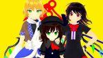 elis_scarlet houjuu_nue mizuhashi_parsee phantom_band phantom_trio touhou