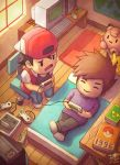 1996 2boys 90s artist_name bed book clefairy computer creatures_(company) doll game_boy game_freak nintendo ookido_green pikachu pokeball pokemon pokemon_rgby red_(pokemon) ry-spirit snes super_famicom super_nintendo super_nintendo_entertainment_system the_legend_of_zelda triforce