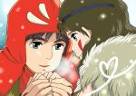 commentary_request emi_(green_wave) mononoke_hime san studio_ghibli