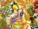 1girl art couple fan_art headphones hyuuga_hinata naruto uzumaki_naruto