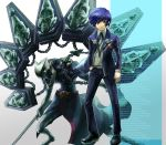 blue_hair highres male matsumoto_eight persona persona_3 thanatos