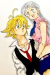1boy 1girl blonde_hair elizabeth_liones meliodas nanatsu_no_taizai
