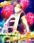 brown_eyes brown_hair character_name dress idolmaster idolmaster_side-m night short_hair yukihiro_kamiya