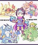 animal blonde_hair blue_eyes blue_skin boots brown_eyes brown_hair cape chibi closed_eyes copy_ability dragon dragon_quest dragon_quest_iii earrings elbow_gloves fire gen_1_pokemon gloves hat helmet highres inkling jewelry link male_focus monster mother_(game) mother_2 ness one_eye_closed open_mouth pikachu pokemon pokemon_(creature) pokemon_(game) roto shield shirt short_hair sleeping slime slime_(dragon_quest) smile sparkle splatoon_(series) super_smash_bros. sword teijiro tentacle_hair the_legend_of_zelda the_legend_of_zelda:_the_wind_waker tiger toon_link weapon