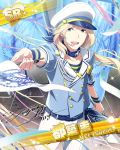 blonde_hair blue_eyes cap character_name dress idolmaster idolmaster_side-m long_hair smile tsuzuki_kei