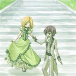 dress lelouch_lamperouge milly_ashford stairs young