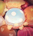 animal animal_focus commentary_request food heart highres macaron manino_(mofuritaionaka) no_humans original signature star turtle u_u
