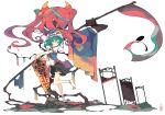 highres ideolo scythe shiki_eiki touhou