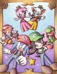 amy_rose cosplay knuckles_the_echidna luigi mario miles_prower princess_daisy princess_peach rouge_the_bat shadow_the_hedgehog sonic sonic_the_hedgehog star super_mario_bros. toad yoshi