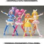 cure_beat cure_melody cure_muse_(yellow) cure_rhythm houjou_hibiki kurokawa_eren magical_girl minamino_kanade photo precure seiren_(suite_precure) shirabe_ako suite_precure tagme