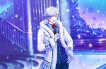 1boy grey_eyes kurosaki_ranmaru solo uta_no_prince-sama white_hair