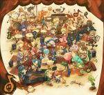 band bongo_drums bongos bowser captain_falcon charizard diddy_kong donkey_kong drum drum_set electric_guitar everyone f-zero falco_lombardi fire_emblem flute fox_mccloud game_&_watch ganondorf grand_piano guitar holding ice_climber ice_climbers ike instrument ivysaur jigglypuff keytar kid_icarus king_dedede kirby kirby_(series) link lucario lucas luigi marimba mario marth meta_knight metroid mother_(game) mother_2 mother_3 mr._game_&_watch nana_(ice_climber) ness nintendo ocarina olimar piano pikachu pikmin pikmin_(creature) pit pokemon pokemon_(game) pokemon_rgby pokemon_trainer popo_(ice_climber) princess_peach princess_zelda r.o.b r.o.b. red_(pokemon) red_(pokemon)_(remake) roy roy_(fire_emblem) samus_aran shirt skin_tight solid_snake sonic sonic_the_hedgehog squirtle star_fox starfox striped striped_shirt sui_(petit_comet) super_mario_bros. super_smash_bros. the_legend_of_zelda timpani toon_link trombone trumpet varia_suit violin waddle_dee wario warioware wolf_o'donnell wolf_o'donnell yoshi zero_suit