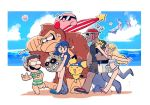 2girls 4boys 5others angry_sun animal ape baby_pokemon bandana bangs beach bikini black_hair blonde_hair blue_eyes blue_hair blush breasts brown_hair captain_falcon choker creatures_(company) crossover densetsu_no_stafy donkey_kong donkey_kong_(series) earrings elf f-zero facial_hair female_swimwear fire_emblem fire_emblem:_kakusei fire_emblem_awakening game_freak ganondorf gerudo gorilla hal_laboratory_inc. headband highres hoshi_no_kirby hug human hylian ice_climber innertube intelligent_systems jewelry kirby kirby_(series) long_hair lucina lucina_(fire_emblem) luigi male_swimwear mario_(series) meta_knight monado monolith_soft moon moon_(majora's_mask) mouse multiple_boys mustache nintendo nintendo_ead olm_digital open_mouth pichu pink_puff_ball pointy_ears pokemon pokemon_(anime) pokemon_(creature) ponytail rariatto_(ganguri) redhead short_hair shorts shulk smile sora_(company) stafy star summer sun sunglasses super_mario_bros._3 super_smash_bros. swim_briefs swim_trunks swimsuit the_legend_of_starfy the_legend_of_zelda the_legend_of_zelda:_a_link_between_worlds the_legend_of_zelda:_majora's_mask the_legend_of_zelda:_ocarina_of_time umbrella water xenoblade_(series) xenoblade_1