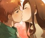 1boy 1girl commentary_request digimon kiss mimxxpk
