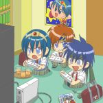 3boys angry blue_eyes blue_hair blush bookshelf cameo chibi drink feremania fire_emblem fire_emblem:_fuuin_no_tsurugi fire_emblem:_monshou_no_nazo fire_emblem:_new_mystery_of_the_emblem fire_emblem:_shin_monshou_no_nazo fire_emblem:_souen_no_kiseki fire_emblem:_the_binding_blade fire_emblem_heroes fire_emblem_mystery_of_the_emblem fire_emblem_path_of_radiance fire_emblem_sword_of_seals glass hoshi_no_kirby ike ike_(fire_emblem) intelligent_systems juice kid_icarus kirby kirby_(series) lowres marth marth_(cosplay) marth_(fire_emblem) meta_knight metroid necktie nintendo palutena_no_kagami pit_(kid_icarus) poster_(object) power_suit project_m red_hair roy_(fire_emblem) samus_aran school_bag school_uniform short_hair sora_(company) super_smash_bros. super_smash_bros._ultimate super_smash_bros_brawl television tiara warp_star wii wii_remote