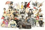 alfred_pennyworth bane barbara_gordon batgirl batman cassandra_cain catwoman chibi clayface dc_comics dick_grayson everyone harley_quinn harvey_dent hush jim_gordon killer_crock mad_hatter manbat mr._freeze name_characters nightwing poison_ivy ras_al_ghoul robin scar_face scarecrow the_joker the_penguine the_riddler tim_drake two_face