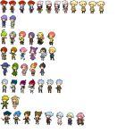 6+boys 6+girls afro ahoge baku_(pokemon) beanie black_hair blonde_hair blue_hair brown_hair cape capture_styler coat dress elite_four gen_(pokemon) goyou_(pokemon) green_hair green_scarf hair_ornament hat headband hikari_(pokemon) kikuno_(pokemon) kouki_(pokemon) long_hair mai_(pokemon) miru_(pokemon) momi_(pokemon) multiple_boys multiple_girls multiple_views old_woman ooba_(pokemon) pixel_art pokemon pokemon_(anime) pokemon_(game) pokemon_dppt pokemon_dppt_(anime) pokemon_platinum pokemon_ranger_uniform pokemon_trainer ponytail reiji_(pokemon) resized ryou_(pokemon) scarf shinji_(pokemon) shirona_(pokemon) shirt short_hair sidelocks simple_background spiky_hair sprites standing striped striped_shirt team_galactic tied_hair toudou_charo upscaled white_background white_scarf winter_clothes yellow_scarf