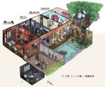 6+girls ak-47 american_flag assault_rifle bear bed captain_america chair chibi clock closet coca-cola colorado_(kantai_collection) commentary dollhouse_view enemy_lifebuoy_(kantai_collection) faberge_egg fence fletcher_(kantai_collection) floorplan flower gambier_bay_(kantai_collection) gangut_(kantai_collection) grass grill gun hibiki_(kantai_collection) highres ido_(teketeke) indoors interior intrepid_(kantai_collection) iowa_(kantai_collection) johnston_(kantai_collection) kantai_collection kremlin lenine little_blue_whale_(kantai_collection) mirror multiple_girls outdoors paper partially_submerged perspective plant pool pool_ladder poolside radar_dish revision rifle samuel_b._roberts_(kantai_collection) saratoga_(kantai_collection) simple_background soviet_flag standing statue sunflower swimsuit tashkent_(kantai_collection) television translated tree treehouse uncle_sam verniy_(kantai_collection) very_wide_shot vladimir_lenin wall water weapon white_background window wojtek_(ido)