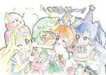 colored_pencil_(medium) gen'ei_wo_kakeru_taiyou graphite_(medium) traditional_media tsukuyomi_luna