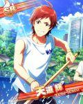 character_name idolmaster idolmaster_side-m red_eyes redhead shirt short_hair tendou_teru