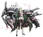1girl aiguillette artist_request azur_lane bangs black_gloves black_legwear boots brown_eyes cape character_name dress earrings expressions flower full_body glint gloves green_cape green_hair grin gujianshaonv headgear high_heel_boots high_heels highres holding holding_flower jewelry knee_boots littorio_(azur_lane) medal multicolored_hair necktie official_art pantyhose red_flower red_neckwear red_rose redhead rigging rose shrug_(clothing) sidelocks sleeve_cuffs smile solo streaked_hair sword weapon white_dress white_footwear