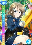 blue_eyes blush character_name grey_hair jacket love_live!_school_idol_festival love_live!_sunshine!! short_hair watanabe_you