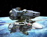 macross macross:_do_you_remember_love? mecha realistic roy_focker skull_and_crossbones skull_squadron space tenjin_hidetaka vf-1 vf-1_strike