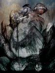 bad_id cong1991 highres hinanawi_tenshi rock shimenawa smile solo sword touhou weapon