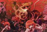 balloon hot_air_balloon mission-chan red_hair redhead school_uniform tears tentacles what