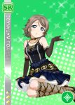 blue_eyes blush character_name dress grey_hair love_live!_school_idol_festival love_live!_sunshine!! short_hair smile watanabe_you