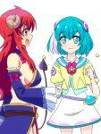 2girls hagoromo_lala highres karuta_(karuta01) kohara_konomi machikado_mazoku multiple_girls precure seiyuu_connection star_twinkle_precure yoshida_yuuko_(machikado_mazoku)