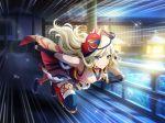 blonde_hair blue_eyes long_hair shinobi shoujo_kageki_revue_starlight warrior yumeouji_fumi