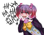 evil kanade_otonokouji laughing super_danganronpa_another_2