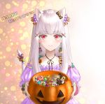 1girl animal_ears cameo candy candy_cane cat_ears cat_tail character_candy closed_mouth cute earrings fire_emblem fire_emblem:_fuukasetsugetsu fire_emblem:_three_houses fire_emblem_heroes flower food gingerbread_cookie hair_ornament hal_laboratory_inc. halloween_basket halloween_costume happy_halloween holding hoshi_no_kirby inkling intelligent_systems jewelry kirby kirby_(series) koei_tecmo loli long_hair lysithea_von_ordelia macaron mario_(series) nintendo nintendo_ead pink_eyes poke_ball poke_ball_(generic) pokemon pokemon_(anime) pokemon_(game) smile solo splatoon_(series) starman_(mario) super_mario_bros. super_smash_bros. super_smash_bros_brawl tail the_legend_of_zelda triforce upper_body user_zjyt4387 white_hair zelda_no_densetsu