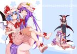 cover cover_page doll doujin_cover eichi_yuu patchouli_knowledge remilia_scarlet sitting sitting_on_person