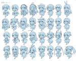 6+girls akagi_(kantai_collection) akatsuki_(kantai_collection) atago_(kantai_collection) beret blue_theme chitose_(kantai_collection) flat_cap fubuki_(kantai_collection) hair_bun haruna_(kantai_collection) hat headgear hibiki_(kantai_collection) hiryuu_(kantai_collection) houshou_(kantai_collection) ikazuchi_(kantai_collection) inazuma_(kantai_collection) isuzu_(kantai_collection) jintsuu_(kantai_collection) kaga_(kantai_collection) kantai_collection kinu_(kantai_collection) kongou_(kantai_collection) koruri kuma_(kantai_collection) long_hair low_ponytail mechanical_halo mikuma_(kantai_collection) miyuki_(kantai_collection) mogami_(kantai_collection) multiple_girls naka_(kantai_collection) ponytail ryuujou_(kantai_collection) school_uniform sendai_(kantai_collection) serafuku shimakaze_(kantai_collection) short_hair shoukaku_(kantai_collection) simple_background souryuu_(kantai_collection) takao_(kantai_collection) tama_(kantai_collection) tatsuta_(kantai_collection) tenryuu_(kantai_collection) twintails twitter_username walking white_background younger yuubari_(kantai_collection) zuikaku_(kantai_collection)