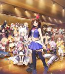 3d 6+girls =_= absolutely_everyone absurdres akai_haato aki_rosenthal android animal_ears apron armor armored_dress asymmetrical_hair asymmetrical_legwear azki_(hololive) azki_channel bat_wings bottle breast_tattoo bunny_girl bunnysuit cat_ears cat_girl cat_tail demon_girl dog_ears dog_girl dog_tail elf everyone flower fox_ears fox_girl fox_tail glasses hair_flower hair_ornament hair_ribbon hat highres hololive horns hoshimachi_suisei houshou_marine inugami_korone japanese_clothes knight looking_at_viewer maid maid_apron maid_cap maid_dress maid_headdress mask mask_on_head miko minato_aqua mirror multiple_girls murasaki_shion nakiri_ayame natsuiro_matsuri nekomata_okayu official_art oni ookami_mio oozora_subaru paper pointy_ears poster poster_(object) rabbit_ears red_oni ribbon roboco-san roboco_ch. sakura_miko shirakami_fubuki shiranui_flare shirogane_noel spotlight star star_hair_ornament succubus suisei_channel tail tattoo tokino_sora tokino_sora_channel uruha_rushia usada_pekora vampire water_bottle wings witch witch_hat wolf_ears wolf_girl wooden_ceiling wooden_floor youkai yozora_mel yuzuki_choco