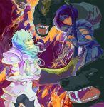 armor blue_hair bobcut kat_(artist) lyra_orphee lyre medium_hair saint_seiya sphinx_pharaoh
