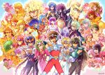alone_(saint_seiya:_the_lost_canvas) andromeda_shun aquarius_camus aries_muu aries_shion athena_(saint_seiya) black_hair blonde_hair blue_hair blush brown_hair cancer_deathmask capricorn_shura celebration chains champagne cygnus_hyoga dragon_shiryu everyone garuda_aiacos gemini_saga glass green_hair griffon_minos guilchii hades_(saint_seiya) helmet julian_solo kido_saori kiki_(saint_seiya) kraken_isaac leo_aiolia libra_douko loki_(saint_seiya:_soul_of_gold) long_hair pegasus_seiya phoenix_ikki pisces_aphrodite polaris_hilda poseidon_(saint_seiya) purple_hair sagittarius_aiolos saint_seiya saint_seiya:_the_lost_canvas scorpio_milo sea_dragon_kanon sideburns siren_sorrento smile taurus_aldebaran tiara virgo_shaka wyvern_radamanthys