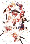 6+girls absurdres ayase_eli bangs black_hair blonde_hair blue_eyes blue_hair bokura_no_live_kimi_to_no_life bow everyone floating full_body green_eyes grey_hair hair_between_eyes hair_bow hair_ribbon highres hoshizora_rin koizumi_hanayo kousaka_honoka long_hair love_live! love_live!_school_idol_project minami_kotori multiple_girls nishikino_maki one_side_up orange_hair ponytail purple_hair red_eyes redhead ribbon sakura_yuki_(clochette) scrunchie short_hair simple_background sonoda_umi toujou_nozomi twintails violet_eyes white_background white_scrunchie yazawa_nico yellow_eyes