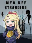 bow bowtie chibi death_stranding himesaka_noa smug watashi_ni_tenshi_ga_maiorita! yakumoyuka