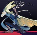 doodle gen_8_pokemon highres inteleon lizard luo_er no_humans pokemon pokemon_(game) pokemon_swsh