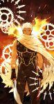 archer black_skin emiya_shirou fate/stay_night fate_(series) highres kanshou_&_bakuya unlimited_blade_works white_hair