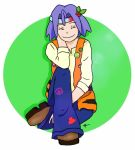 blue_hair buchichu green_eyes hippie kojirou_(pokemon) pokemon pokemon_(anime) team_rocket