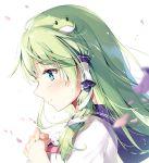 1girl green_hair kochiya_sanae miyase_mahiro touhou