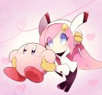 blue_eyes hair_ornament hairclip kirby kirby:_planet_robobot kirby_(series) no_humans pink_hair pink_skin susie_(kirby) suzuyuki_cafe