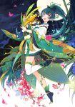 1girl daitengu dandelion flower hair_ornament keikoku_(kujira) long_hair onmyoji onmyouji ying_grass